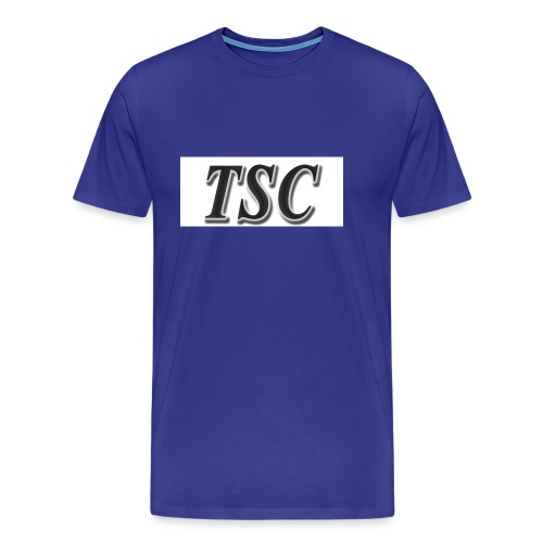 TSC Black Text - Men's Premium T-Shirt