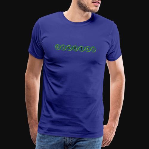 ƒяσηтαℓ (green) - Männer Premium T-Shirt