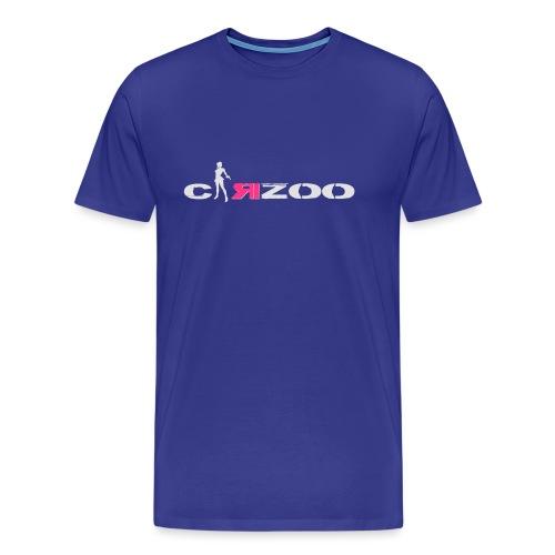 carzoo girl grand logo b - T-shirt Premium Homme