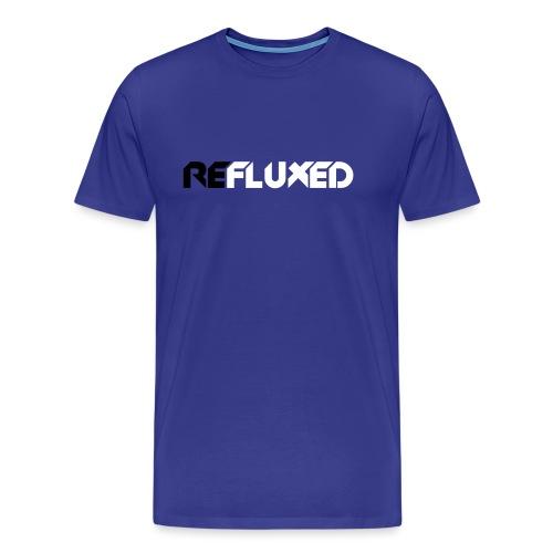 Refluxed letters - Mannen Premium T-shirt