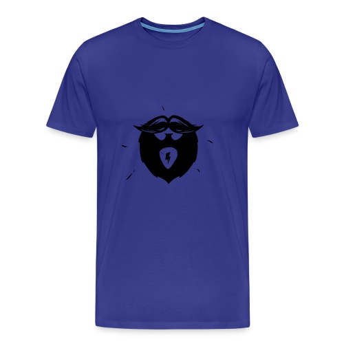 Studio Brewdio Logo Black Just Beard - Men's Premium T-Shirt