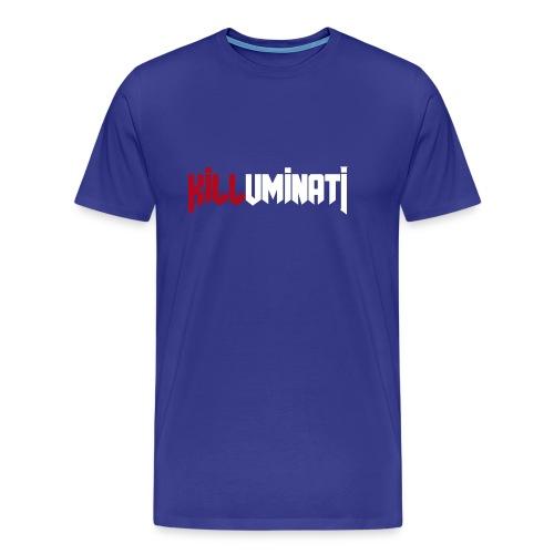 KILLUMINATI influence logo - Maglietta Premium da uomo