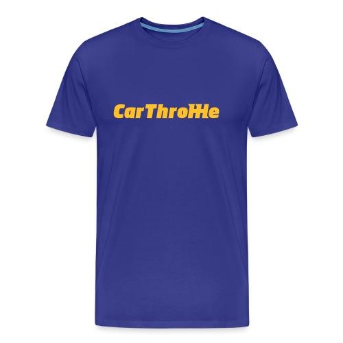 Car Throttle Logo - Men's Premium T-Shirt