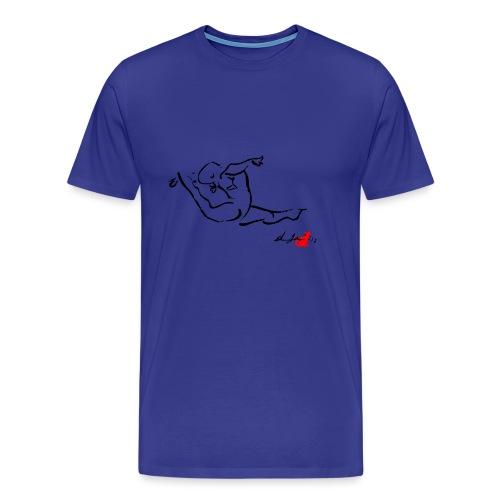 GINNASTA IN VOLTEGGIO - Maglietta Premium da uomo