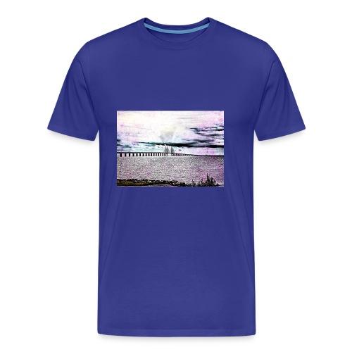 Öresundsbron - Premium-T-shirt herr