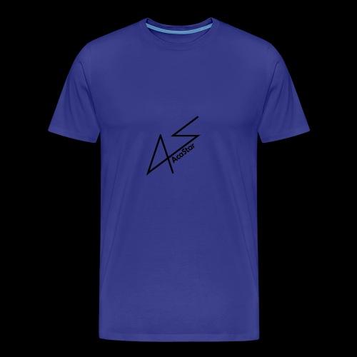 Logo Noir - T-shirt Premium Homme