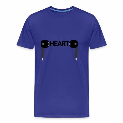 ListenToYourHeart - Koszulka męska Premium