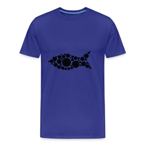 fish - Miesten premium t-paita
