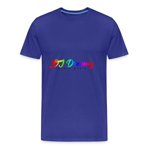 DJ Dreamy Logo PNG Gradient 1 - Men's Premium T-Shirt
