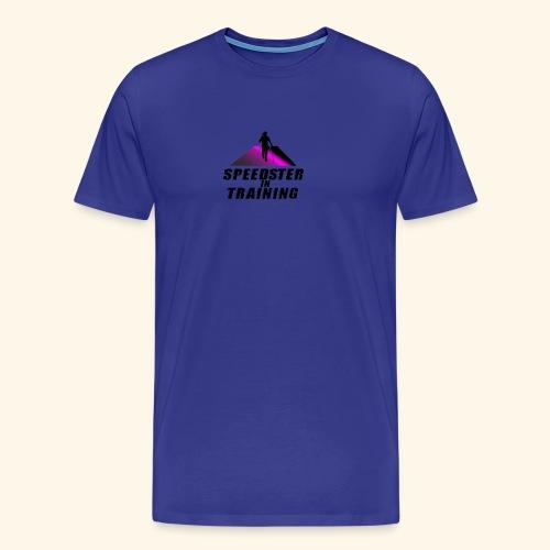 Speedster Logo - Men's Premium T-Shirt