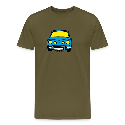 Voiture ancienne mythique française - T-shirt Premium Homme
