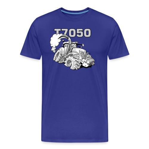 0846 NH T7050 gray - Mannen Premium T-shirt