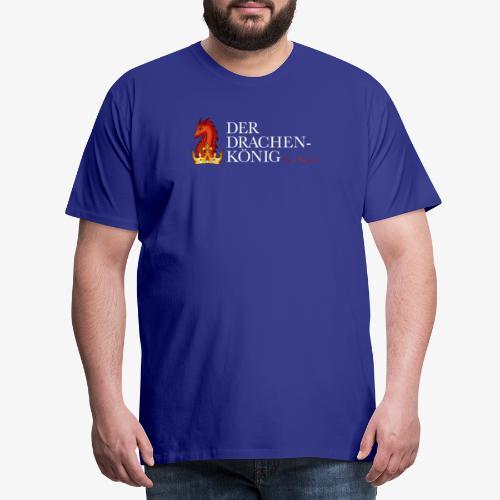 Drachenkönig Logo Schrift - Männer Premium T-Shirt