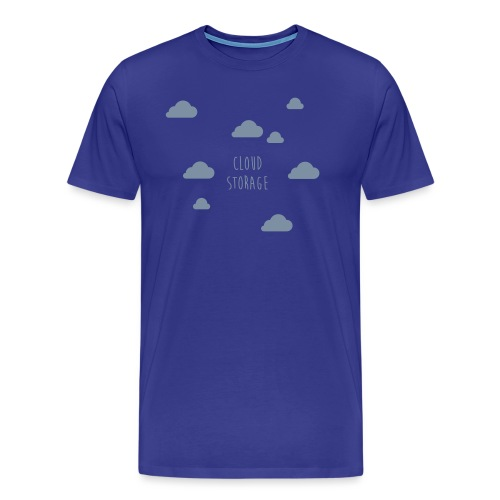Cloud Storage - Männer Premium T-Shirt