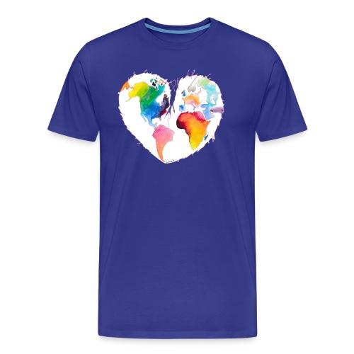 Ich bin als Pfadfinder meines Herzens unterwegs - Männer Premium T-Shirt