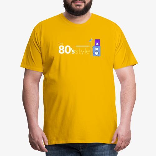 I love 80´s - Camiseta premium hombre