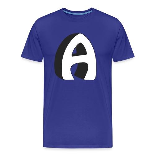Alfa Kv | Basebal T-Shirt (lange mouwen) - Mannen Premium T-shirt