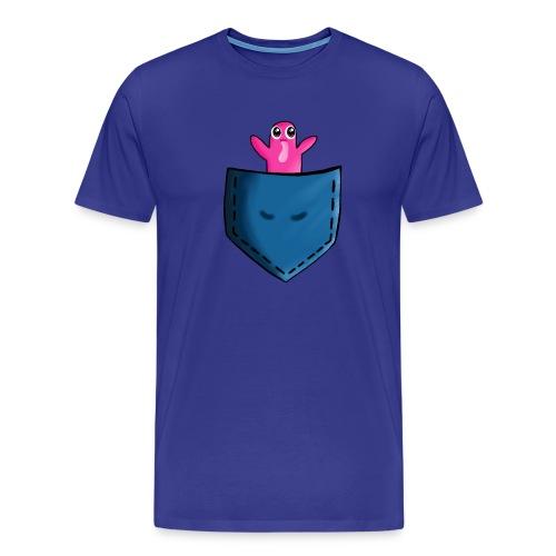 Lomme monster - Herre premium T-shirt