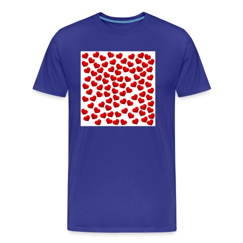serca jpg - Koszulka męska Premium