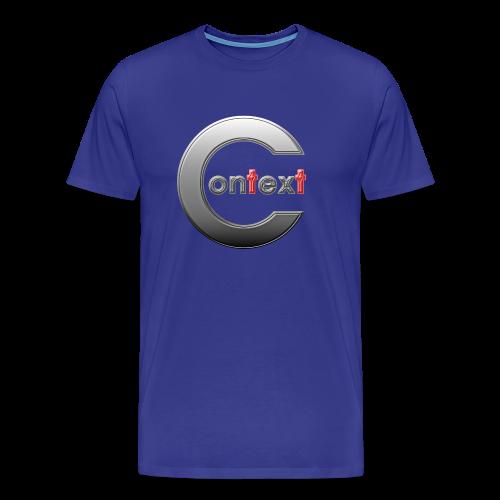 Context silver - Premium-T-shirt herr