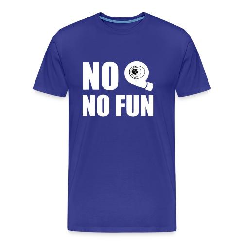 No turbo no fun - Maglietta Premium da uomo