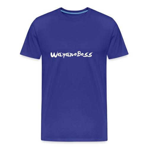 WayanoBoss XXL png - Mannen Premium T-shirt