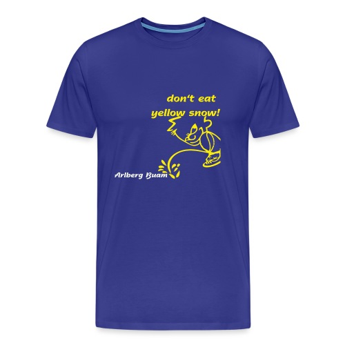 yellow snow - Männer Premium T-Shirt