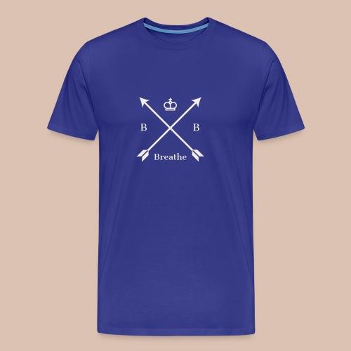 Breathe (Arrow Design) - Men's Premium T-Shirt