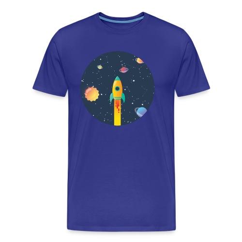 Spaceship travel - Maglietta Premium da uomo