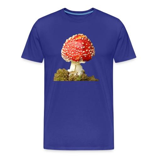 Der rote giftige Fligenpilz - Männer Premium T-Shirt