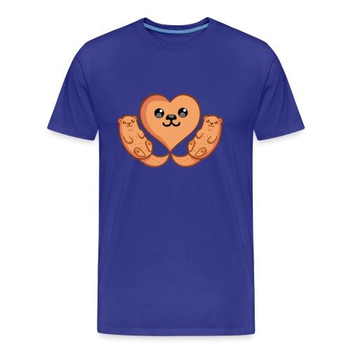 Otter Liebe - Männer Premium T-Shirt