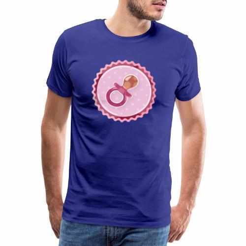 Baby Pacifier - Männer Premium T-Shirt