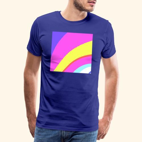 Curva colorata - Maglietta Premium da uomo