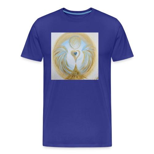 Herzengel der lichtvollen Zeit - Männer Premium T-Shirt