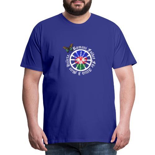 LennyhjulRomaniFolketivitfjerliskulle - Premium-T-shirt herr