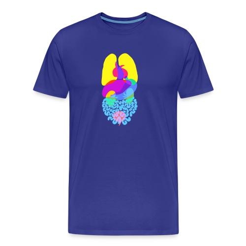Die Anatomie des Menschen - Männer Premium T-Shirt