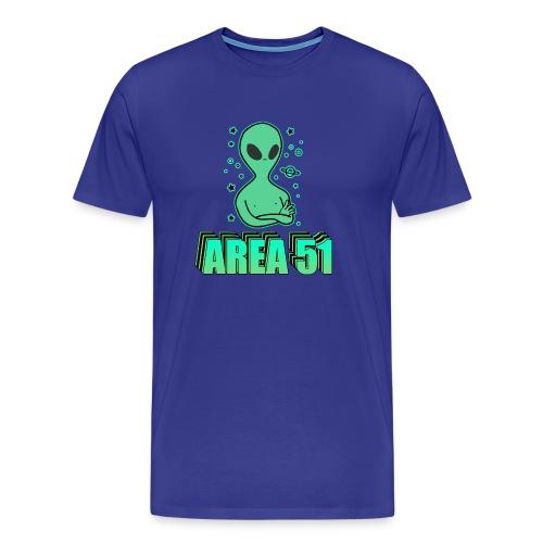 Storm Area 51 Memes - Men's Premium T-Shirt