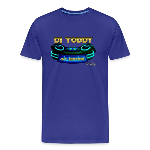 DJ TODDY 1st EDITION (Blau) Limitierte Edition - Männer Premium T-Shirt