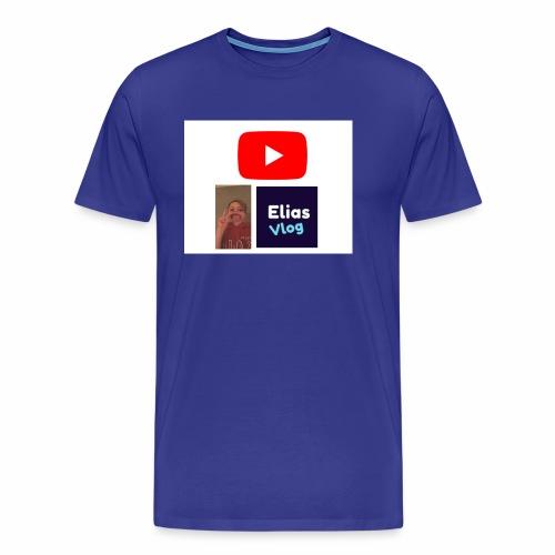 YT Elias Vlog - Premium T-skjorte for menn
