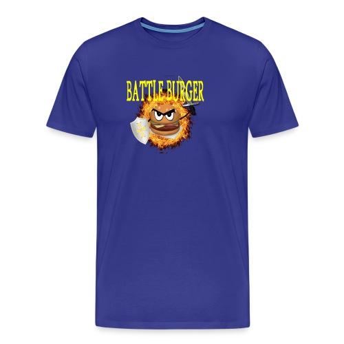 Battle_Burger - Camiseta premium hombre