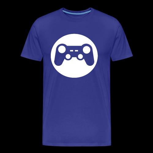 Zocker Prototype (Controller) Logo weiß - Männer Premium T-Shirt