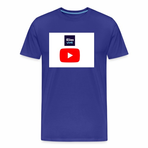 Elias Vlog Youtube - Premium T-skjorte for menn