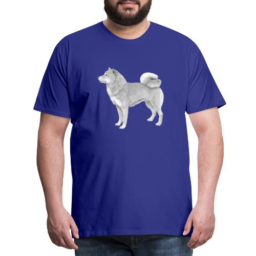 shiba inu - Herre premium T-shirt