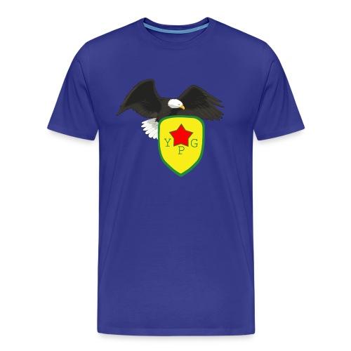 Mens Support YPG Hoodie - Miesten premium t-paita