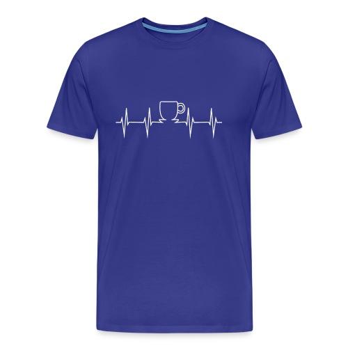 caffe - Männer Premium T-Shirt