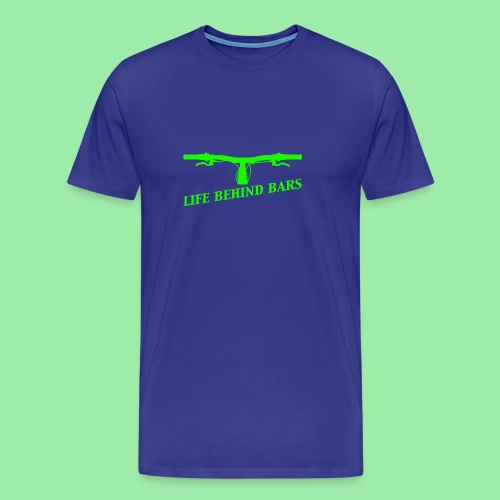 life behind bars2 - Mannen Premium T-shirt