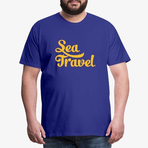 sea travel - T-shirt Premium Homme