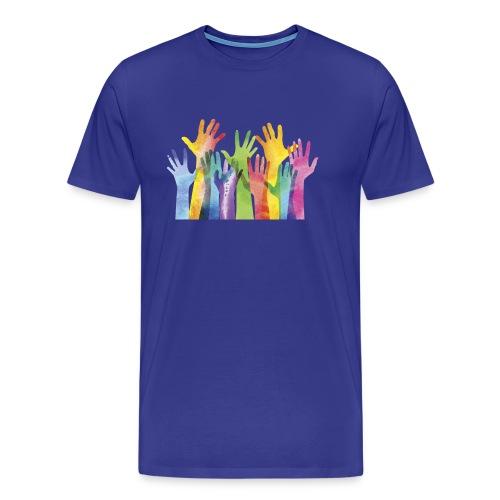 Alll hands - Mannen Premium T-shirt