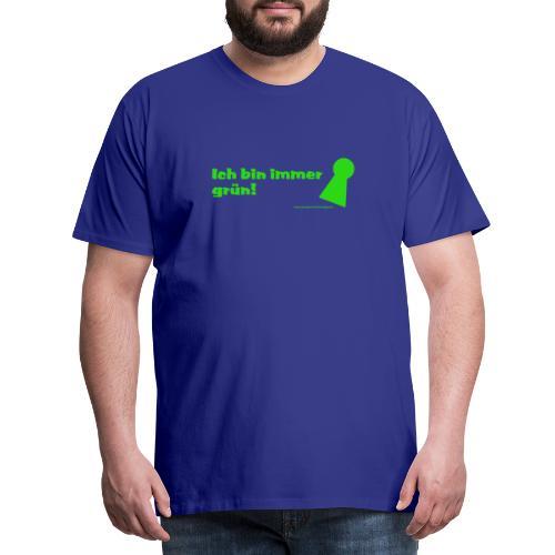 gruen poeppel - Männer Premium T-Shirt