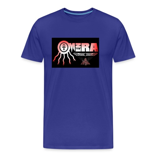 OMEN RA RED AND BLACK LOGO - Men's Premium T-Shirt